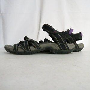 Teva Women's 9 EU 40 Sport Sandals Gray Purple